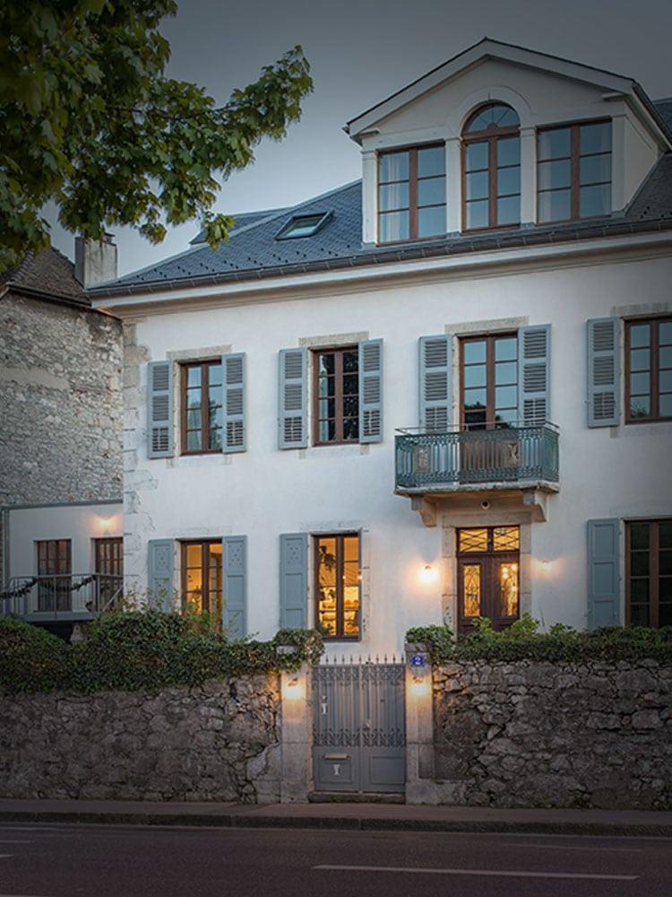 Rénovation d'un hötel particulier à Annecy