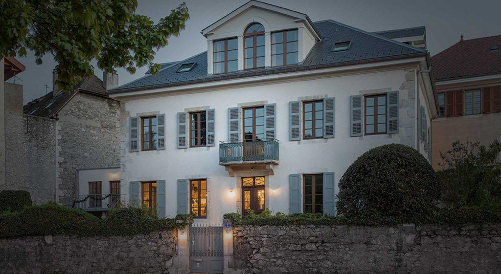 Rénovation d'un hôtel de charme à Annecy