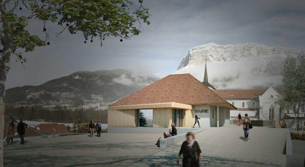 Restructuration équipements publics Annecy