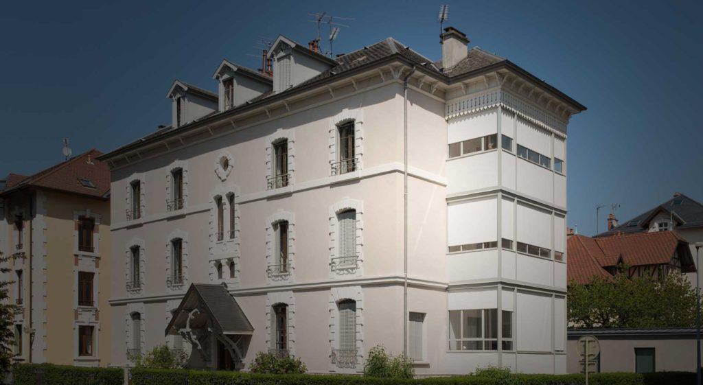 Rénovation immeuble Annecy