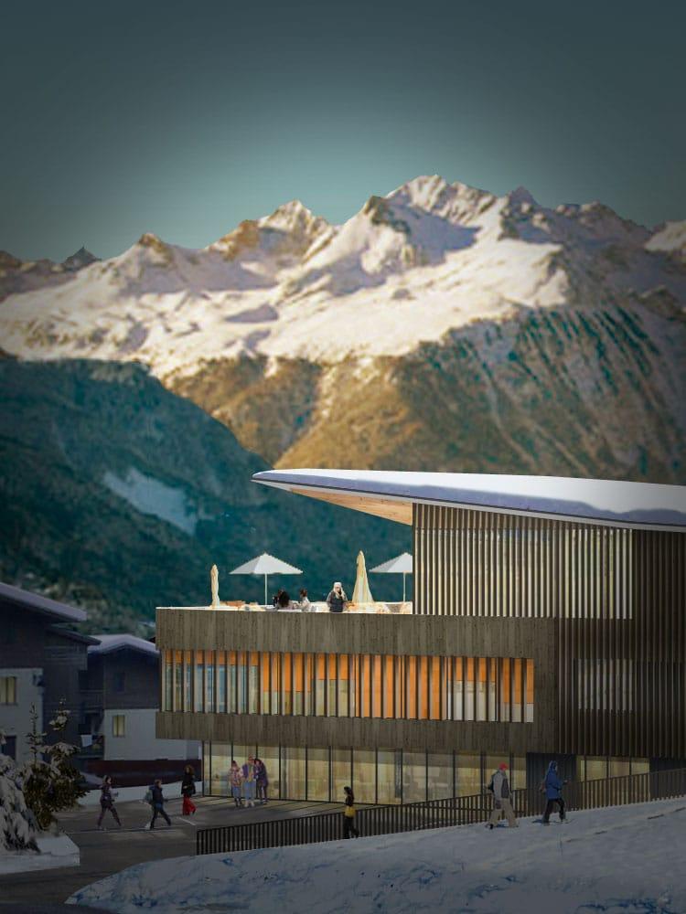 Rénovation équipement touristique Savoie