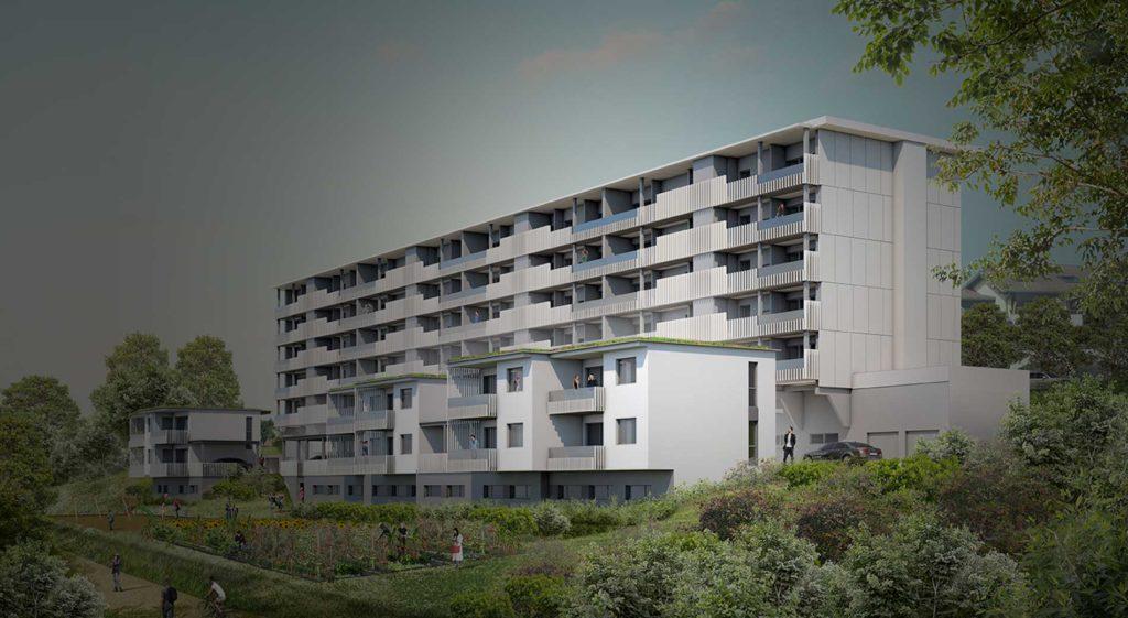 Réhabilitation immeuble collectif annecy
