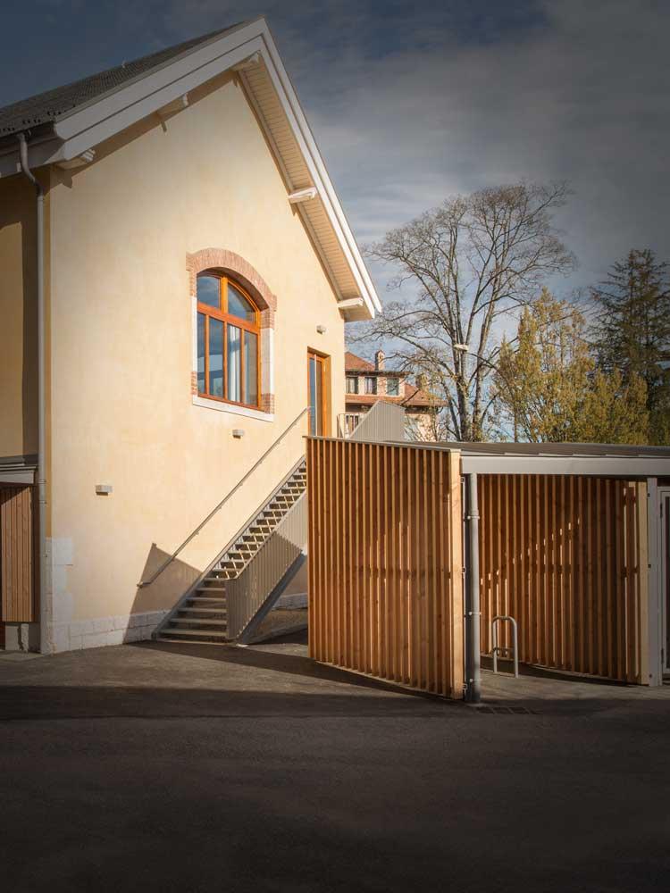 Rénovation gymnase lycée Annecy