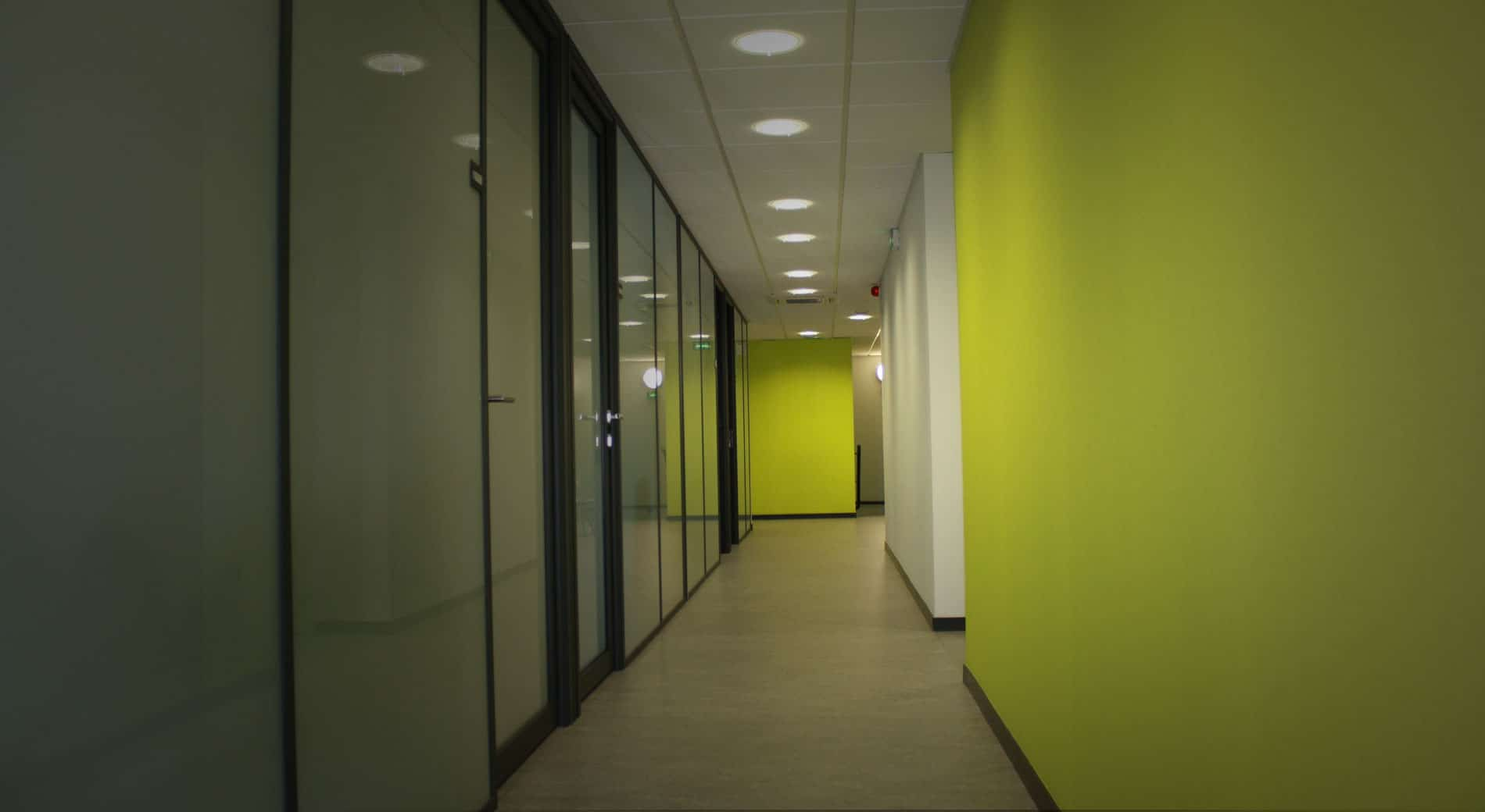 Restructuration bâtiment fonction publique territoriale Annecy
