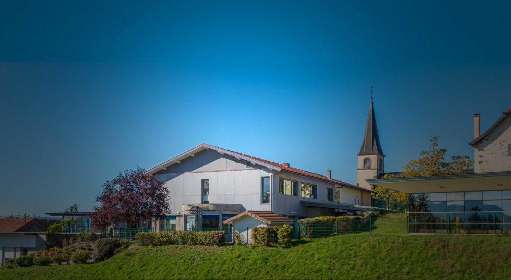 Rénovation école Lucinges Haute-Savoie